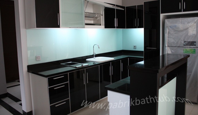 Design Interior Kitchen Set Jakarta Indonesia